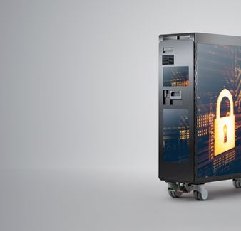pc case with security lock